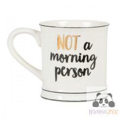 Not a morning person bögre